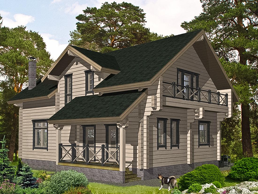 Проекты домов хонка
