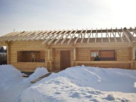 Баня по архитектурному проекту Lotta 133 кв. м., Московская область, Истринский район.