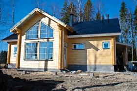 Дом из клееного бруса размером 202208 мм, площадью 120 кв. м. (Владимирская область, Покровский район)