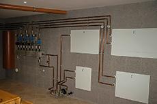 Отопление в доме из бруса, Отопление дома под ключ, Дома из клееного бруса проекты и цены